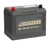 NORDMAX Start-Stop AGM D26R 75 Ah CCA 750 A (EN)